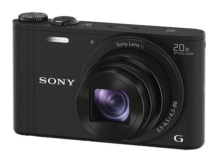 Sony CyberShot DSC-WX350 černý + 8GB Class 10 + originální pouzdro + náhradní akumulátor!
