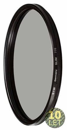 B+W polarizační cirkulární filtr Käsemann MRC Slim 72mm