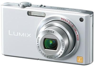 Panasonic DMC-FX33 stříbrný