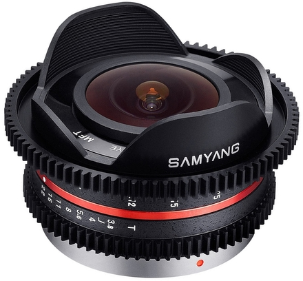Samyang 7,5mm T/3,8 Cine UMC Fish-eye pro micro 4/3