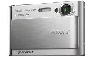 Sony DSC-T70 stříbrný