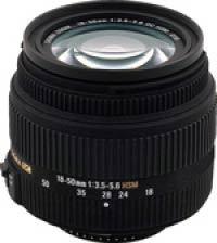 Sigma 18-50 mm F 3,5-5,6 DC HSM pro Nikon