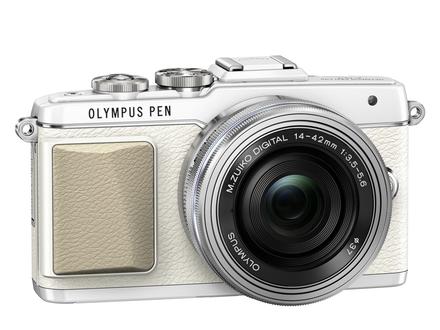 Olympus PEN E-PL7 + 14-42 mm EZ + 40-150 mm R černý