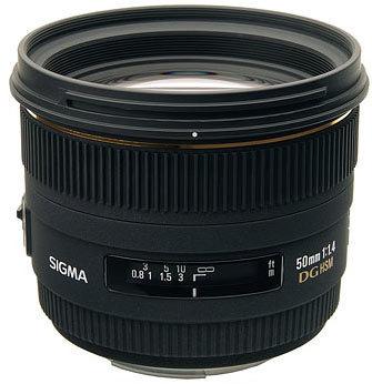 Sigma 50mm f/1,4 EX DG HSM pro Nikon