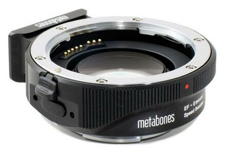 Metabones Speed Booster z Canon EF na Sony E