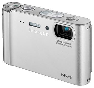 Samsung NV9 stříbrný