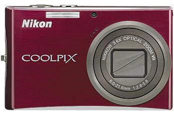Nikon CoolPix S710 červený + SD 2GB karta zdarma!