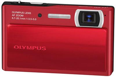 Olympus Mju 1040 červený