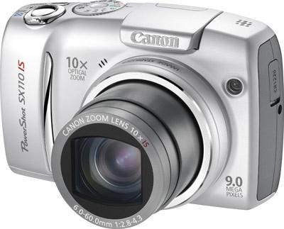 Canon PowerShot SX110 IS stříbrný
