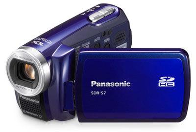 Panasonic SDR-S7 modrý