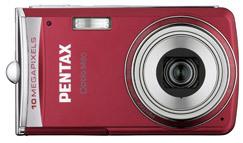 Pentax Optio M60 červený