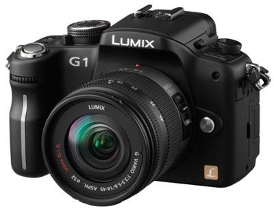 Panasonic Lumix DMC-G1 černý + G Vario 14-45 mm