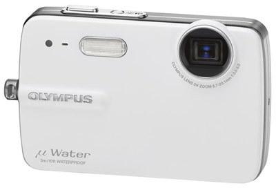 Olympus Mju 550 WP bílý