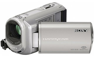 Sony DCR-SX30E stříbrná + brašna DFV42 zdarma!