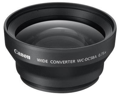 Canon širokoúhlá předsádka WC-DC58A