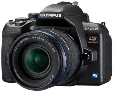 Olympus E-620 Double Zoom Kit + grip HLD-5