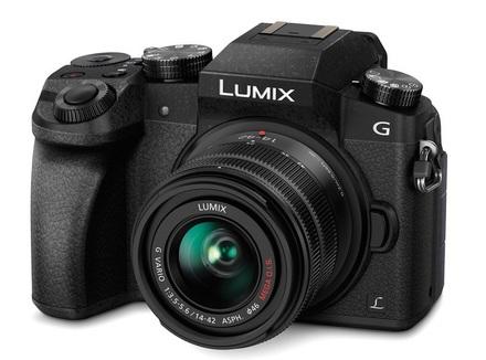 Panasonic Lumix DMC-G7 + 14-42 mm II stříbrný