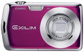 Casio EXILIM Z1 fialový