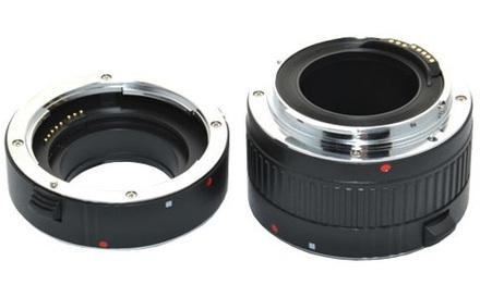 JJC sada mezikroužků 10mm/16mm pro micro 4/3