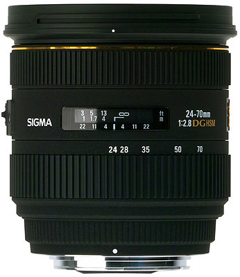 Sigma 24-70 mm F 2,8 EX DG HSM pro Canon + utěrka Sigma zdarma!