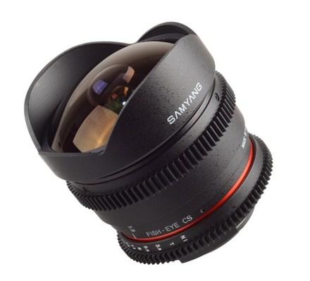 Samyang 8mm T/3,8 VDSLR CSII pro Fuji X
