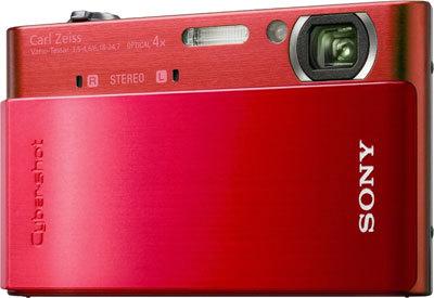 Sony CyberShot DSC-T900 červený