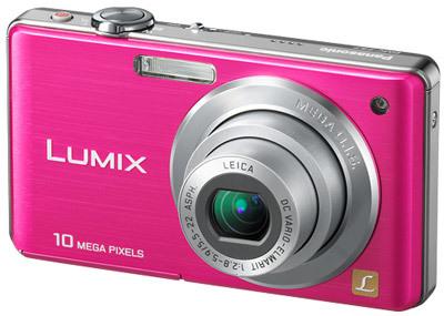 Panasonic Lumix DMC-FS7 růžový
