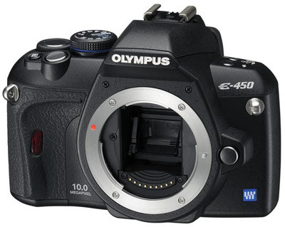 Olympus E-450 tělo