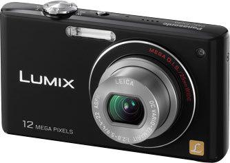 Panasonic Lumix DMC-FX40 černý