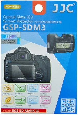 JJC ochranné sklo na displej pro Canon EOS 5D Mark III, 5DS a 5DS R