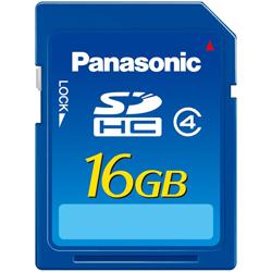 Panasonic SDHC 16 GB Class 4
