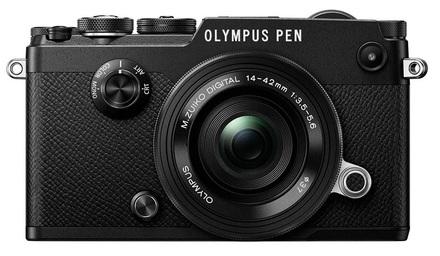 Olympus PEN-F + 14-42 mm EZ