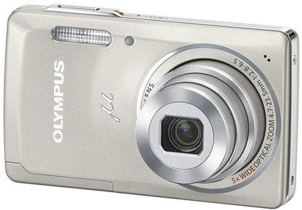 Olympus Mju 5010 stříbrný