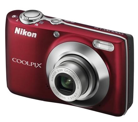 Nikon Coolpix L22 červený