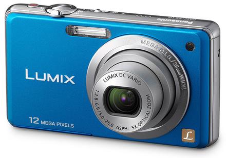Panasonic Lumix DMC-FS10 modrý