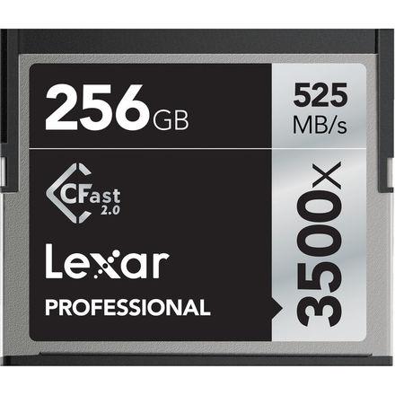 Lexar 256GB CF Professional 3500x CFast 2.0 525MB/s