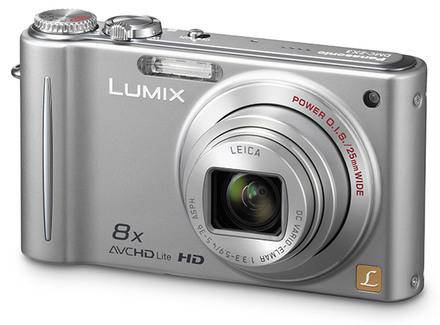 Panasonic Lumix DMC-ZX3 stříbrný