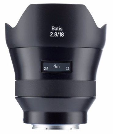 Zeiss Batis 18mm f/2,8 pro Sony E
