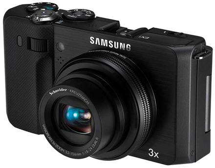 Samsung EX1 černý + 8GB karta + pouzdro Surrounder 60 + náhradní akumulátor!