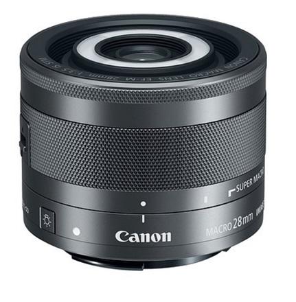 Canon EF-M 28mm f/3,5 STM Macro s LED světlem