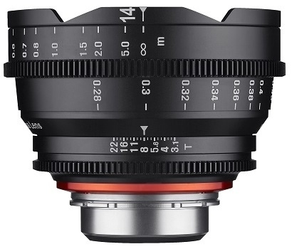 Samyang XEEN CINE 14mm T/3,1 pro Canon EF