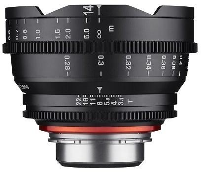 Samyang XEEN CINE 14mm T/3,1 pro Sony E