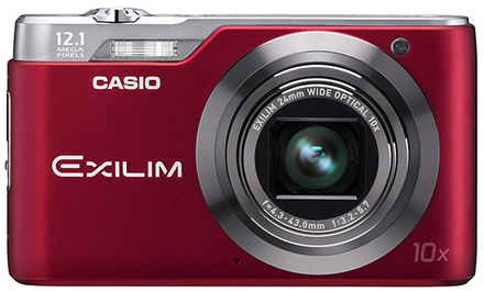Casio EXILIM H5 červený + fotokniha zdarma!