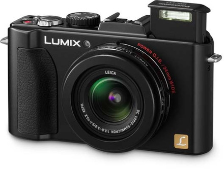 Panasonic Lumix DMC-LX5 + autom. krytka + redukce na filtr + UV filtr 52mm!