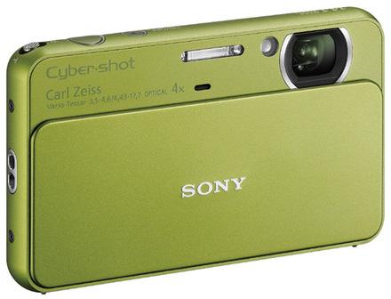 Sony CyberShot DSC-T99 zelený