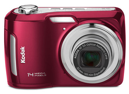 Kodak EasyShare C195 červený