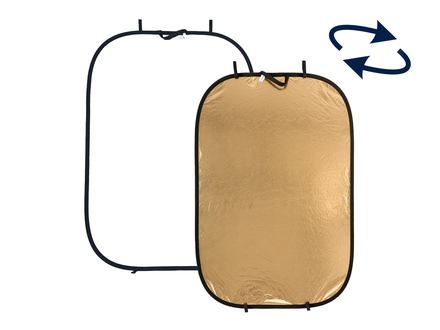 Lastolite Panelite odrazná deska 180x125cm zlatá/bílá