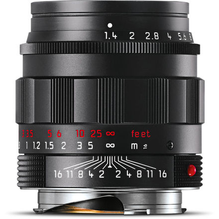 Leica 50mm f/1,4 ASPH SUMMILUX-M Black-Chrome Edition