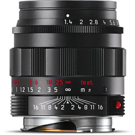 Leica 50mm f/1,4 ASPH SUMMILUX-M Black-Chrome Edition
