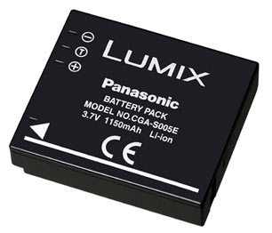 Panasonic akumulátor CGA-S005E/1C